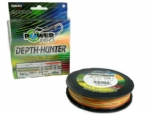 Linha de Multifilamento POWER PRO DEPTH-HUNTER - 10lbs c/ 305m MULTI COR (#9/medidas)